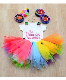 Tu Ti Tu Candyland Princess Onesie & Tutu Set - Multicolor