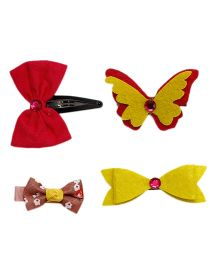 D'chica Mix & Match With Every Dress Set Of Clips - Multicolour