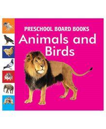 Pegasus Preschool Board Book Animals And Birds - English