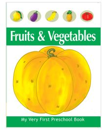Pegasus My Veruy First Preschool Book Fruits And Vegetables - English