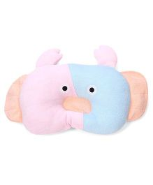 Baby Pillow Crab Shape - Pink Sky Blue
