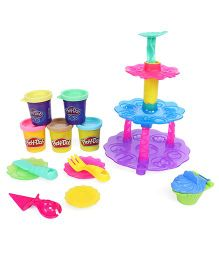 Play Doh Cupcake Tower - Multi Color