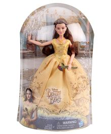 Disney Princess Beauty And the Beast Ball gown Belle Yellow - Height 26 cm