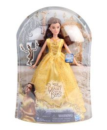 Disney Princess Beauty And The Beast Enchanting Melodies Yellow - Height 26 cm