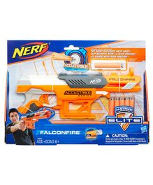 Nerf N Strike Falcon Fire Gun With Darts - Orange