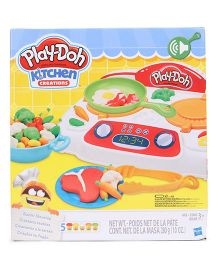 Play Doh Kitchen Creations Sizzlin Stove Top - Multi Color