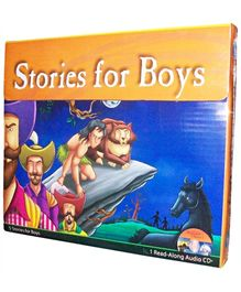 Pegasus Stories for Boys Audio Pack 1 - English
