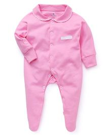 Child World Plain Sleep Suits - Pink