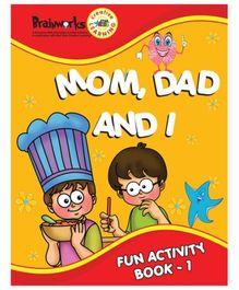 Popular - Mom, Dad and I Fun Activity Book 1 - English