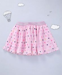Hugsntugs Dot Print Skirt - Pink