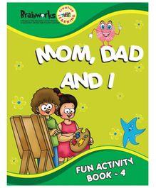 Popular Mom, Dad and I Fun Activity Book 4 - English
