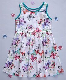 Crayonflakes Butterflies Knit Dress - Multicolour