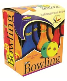 Ekta Bowling Set Senior Fun Game - 6 Pins