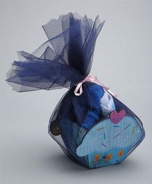 Needybee 5 Pc Baby Boy Welcome Gift Set For Newborn - Blue