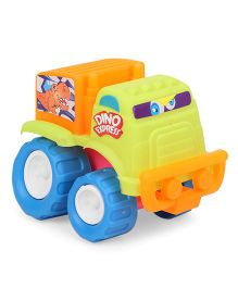 Grv Toy Truck With Big Wheels - Green Orange