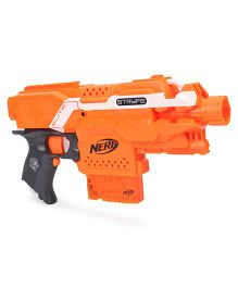Nerf N Strike Elite Stryfe Motorized Semi Auto Blaster Toy Gun - Orange