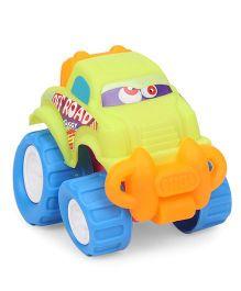 Grv Toy Car With Big Wheels - Green Blue