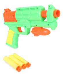 Grv Toy Gun With Soft Bullets - Green