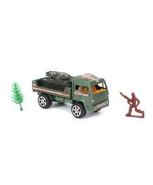 Grv Toy Army Truck With Tanker - Green