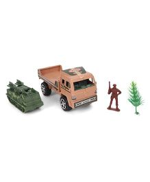 Grv Green Army Truck - Brown