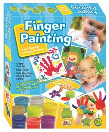 Ekta Finger Painting - With 18 Colors