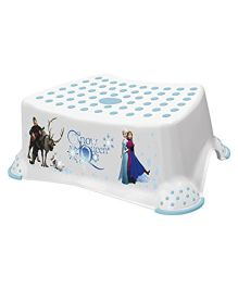 Keeeper Step Stool Frozen Print - White Blue