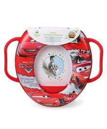 Keeeper Soft Toilet Training Seat Cars Print - Red