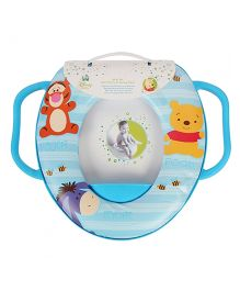Keeeper Soft Toilet Training Seat Winnie the Pooh Print - Blue