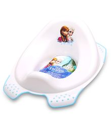 Keeeper Toilet Training Seat Frozen Print - White
