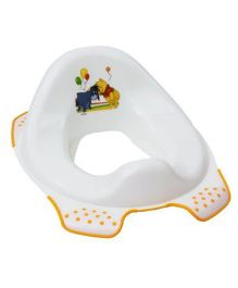 Keeeper Toilet Training Seat Winnie The Pooh & Friends Print - White