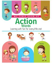My First Book Of Action Words - English