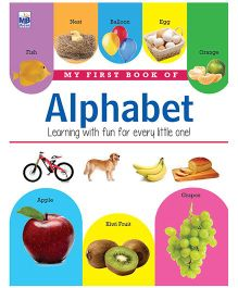 My First Book Of Alphabet - English