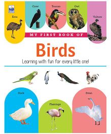 My First Book Of Birds - English