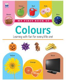 My First Book Of Colours - English
