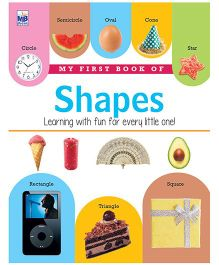 My First Book Of Shapes - English