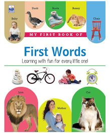 My First Book Of My First Word - English