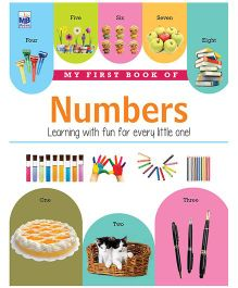 My First Book Of Numbers - English