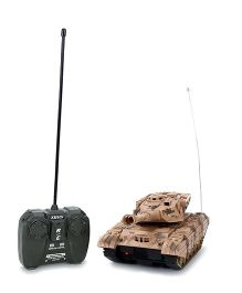 Classic Remote Controlled Tank 5895 - Brown