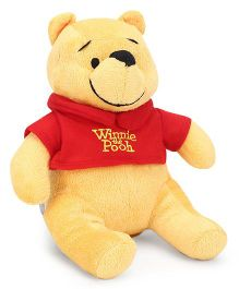 Starwalk Winnie The Pooh Plush Soft Toy Yellow Red - 23 cm