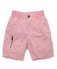 Bees and Butterflies Coloured Shorts - Peach