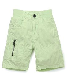Bees and Butterflies Coloured Shorts - Lime Green
