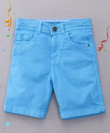 Bees and Butterflies Coloured Shorts - Sky Blue