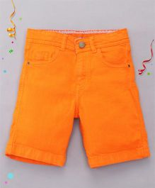 Bees and Butterflies Shorts for Boys - Orange
