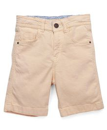 Bees and Butterflies Shorts for Boys - Cream