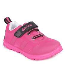 Doink Sneakers Sports Shoes With Velcro Closure - Fuchsia Pink