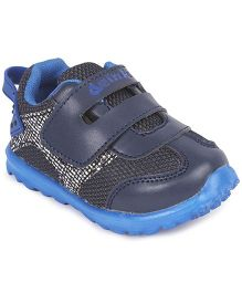 Doink Velcro Closure Sneaker Shoes - Navy