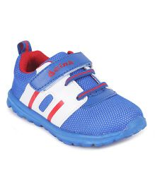 Doink Velcro Closure Sports Shoes - Royal Blue