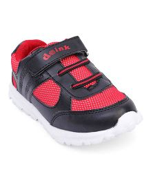 Doink Sneakers Shoes With Velcro Closure - Black