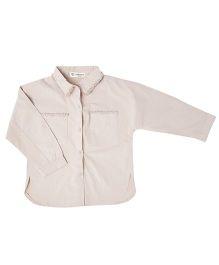 Cubmarks Dual Pocket Shirt - Beige