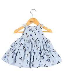 Hugsntugs Printed Single String Top - Blue